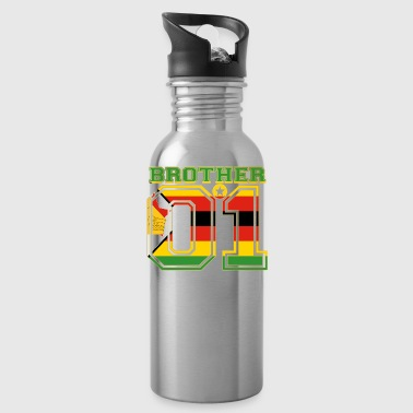 brother brother brother 01 partner Zimbabwe - Water Bottle