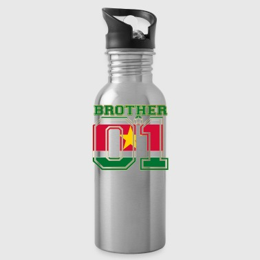 brother brother brother 01 partner Suriname - Water Bottle