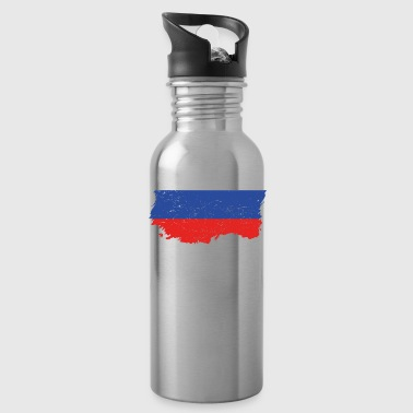 Roots roots flag homeland country Russia png - Water Bottle