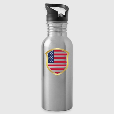 World Champion Champion 2018 wm team USA America pn - Water Bottle