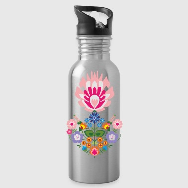floral - Water Bottle
