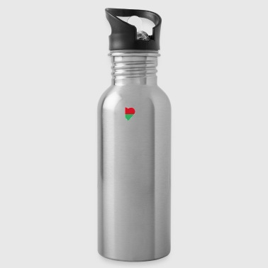 home roots queen love from heart Madagascar png - Water Bottle