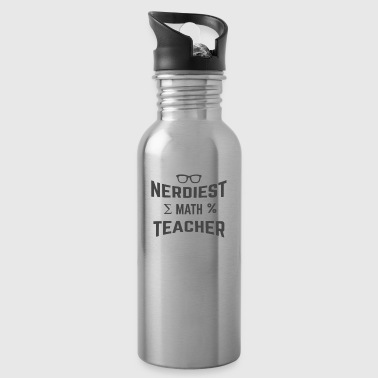 NERDIEST MATH TEACHER - Water Bottle