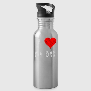 I love my Dad dad love Father's Day gift idea - Water Bottle