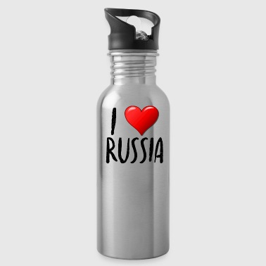 I Love Russia - Water Bottle