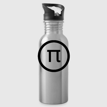 PI Day Shirt Math Design Style - Water Bottle