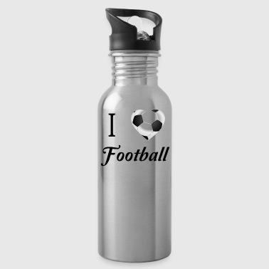 J'aime le football - Gourde