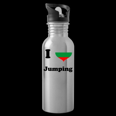 I love Jumping Bulgaria - Jumping Fitness - Water Bottle