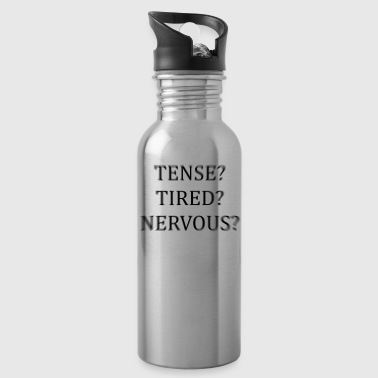 Tense? Tired? Nervous? Optical illusion - Water Bottle