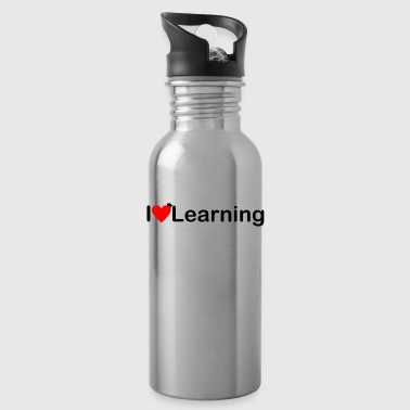 I love learning | I love learning - Water Bottle