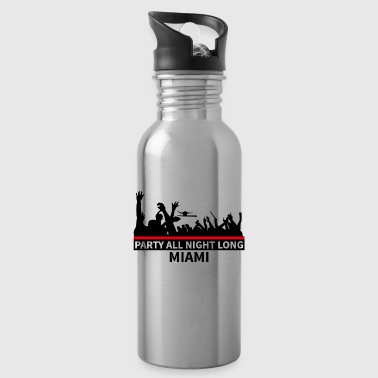 MIAMI Party - Water Bottle