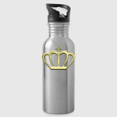 Golden crown king kings gift idea - Water Bottle