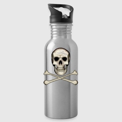 Skull and Crossbones - Drinkfles