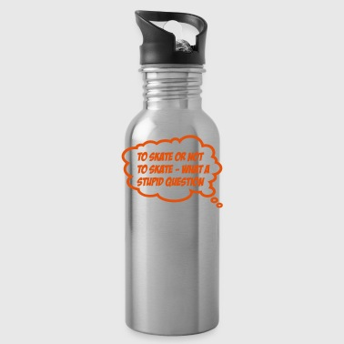 2541614 13556403 skate - Water Bottle