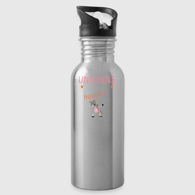 Unicorns Are Born In August - Water Bottle