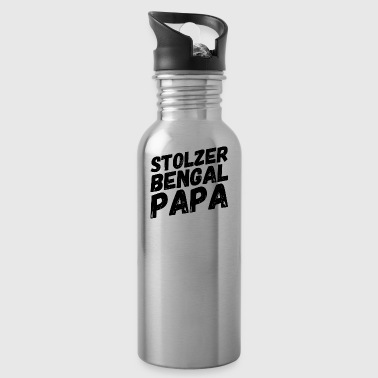 Stolzer Bengal Papa - Trinkflasche