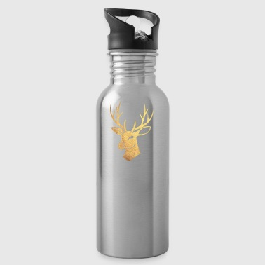 Golden stag - Water Bottle