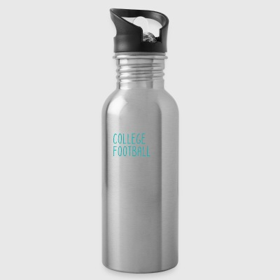 Saturdays Tailgates College Football - Water Bottle