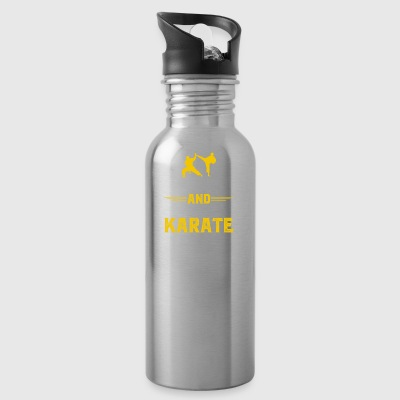 Gift for karate fighter, poison karate fighter - Water Bottle