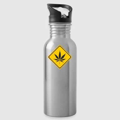 Beware cannabis - Water Bottle