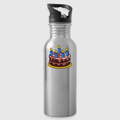 birthday cake - Water Bottle