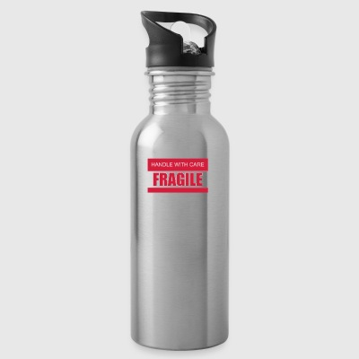 FRAGILE Handle with care 2c - Trinkflasche