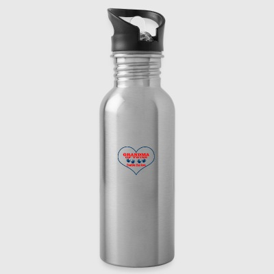 grandma of twins - Water Bottle