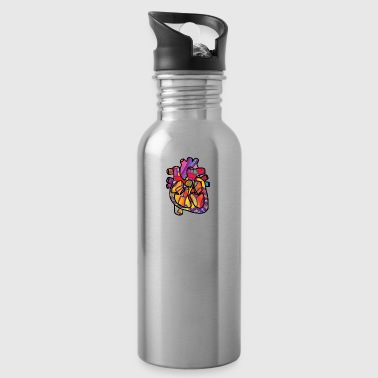 Real Energetic Heart - Water Bottle