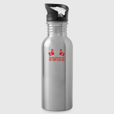 Swiss National Day - Water Bottle