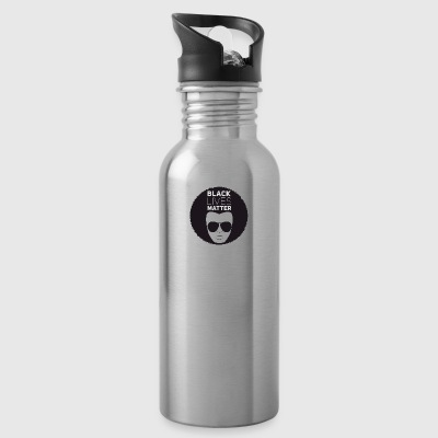 black lives matter liberation disco afro black su - Water Bottle