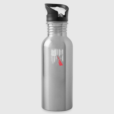 American sail sailing americas cup match Race foil - Water Bottle