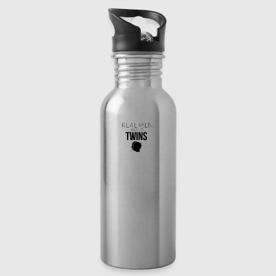 Real men make twins - Water Bottle