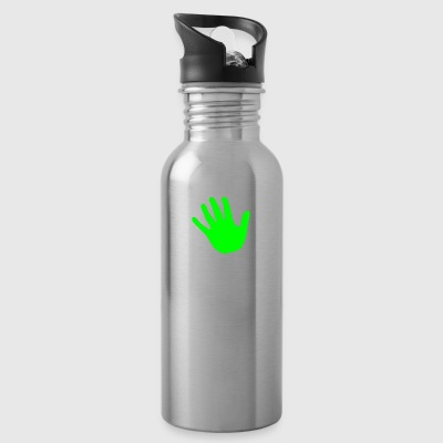 hand green - Water Bottle