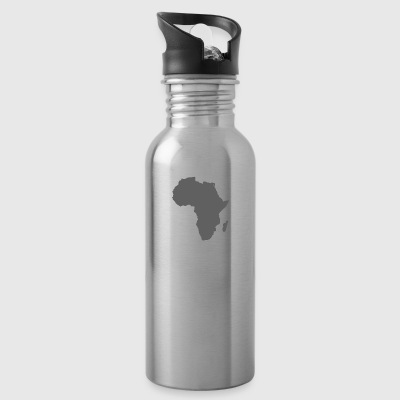afro styles grey - Trinkflasche