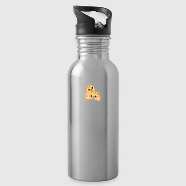 Two cute cats - Water Bottle