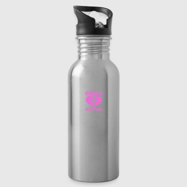 Girls Love Burpees - Water Bottle
