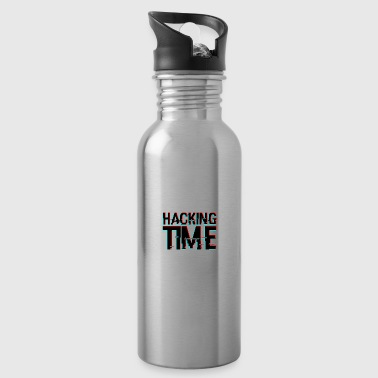 HACKING TIME HACKER - Trinkflasche