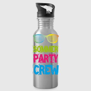 Summer Party Crew Club Holiday Fun 2018 T-Shirt - Water Bottle