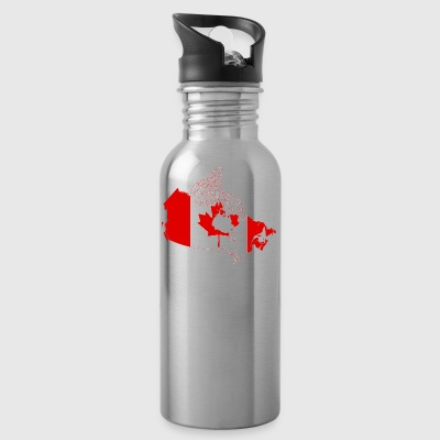 Map of Canada - Water Bottle