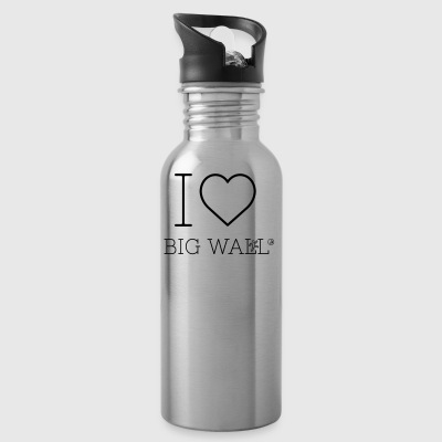 I love Big Wall - Water Bottle