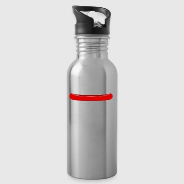 canoe kayak canoe barge paddle boat rowboat4 - Water Bottle