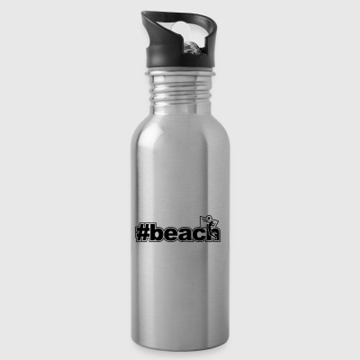 beach woman network xx - Water Bottle