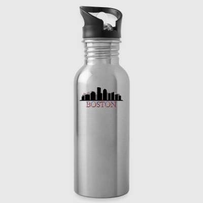 skyline boston - Water Bottle