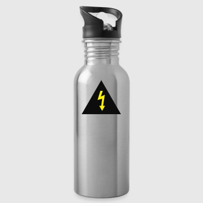electricity danger signal - Water Bottle