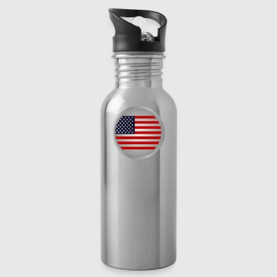 United States flag - Trinkflasche