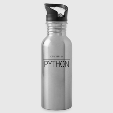 i love reptile python - Water Bottle