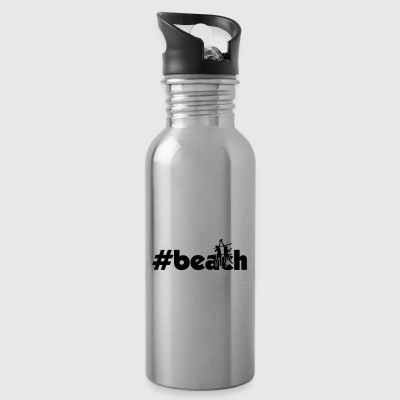 beach men xy - Water Bottle
