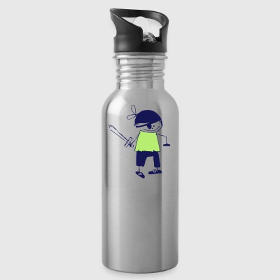 a pirate - Water Bottle