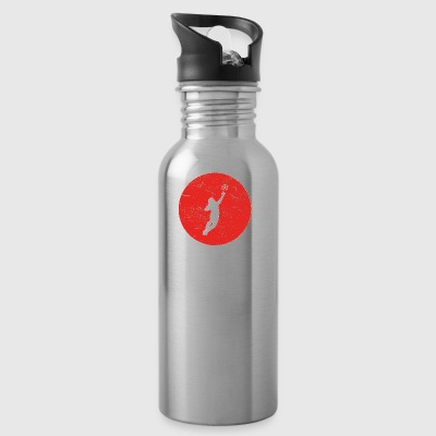 Gift goalkeeper stuermer goalie football fussbal - Water Bottle