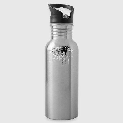 Tattoo natural born inker tattoo gift - Water Bottle